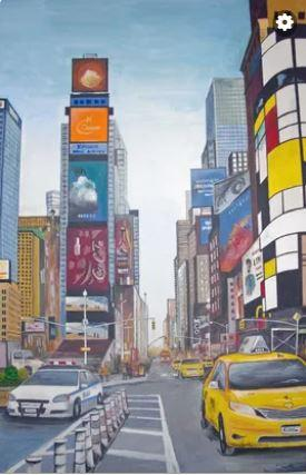 VIRTUAL OPEN ART EXHIBITION - Original acrylic - canvas 20x30