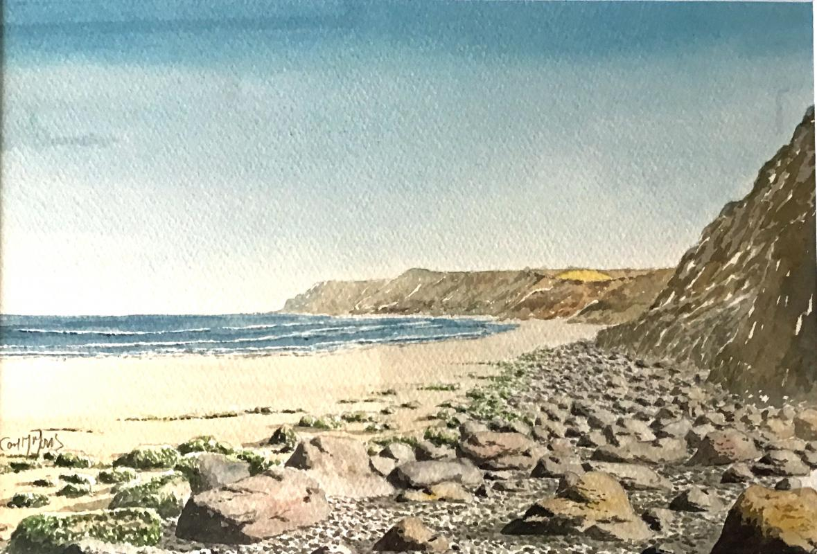 VIRTUAL OPEN ART EXHIBITION - Original Watercolour U/f 11.5x8.5