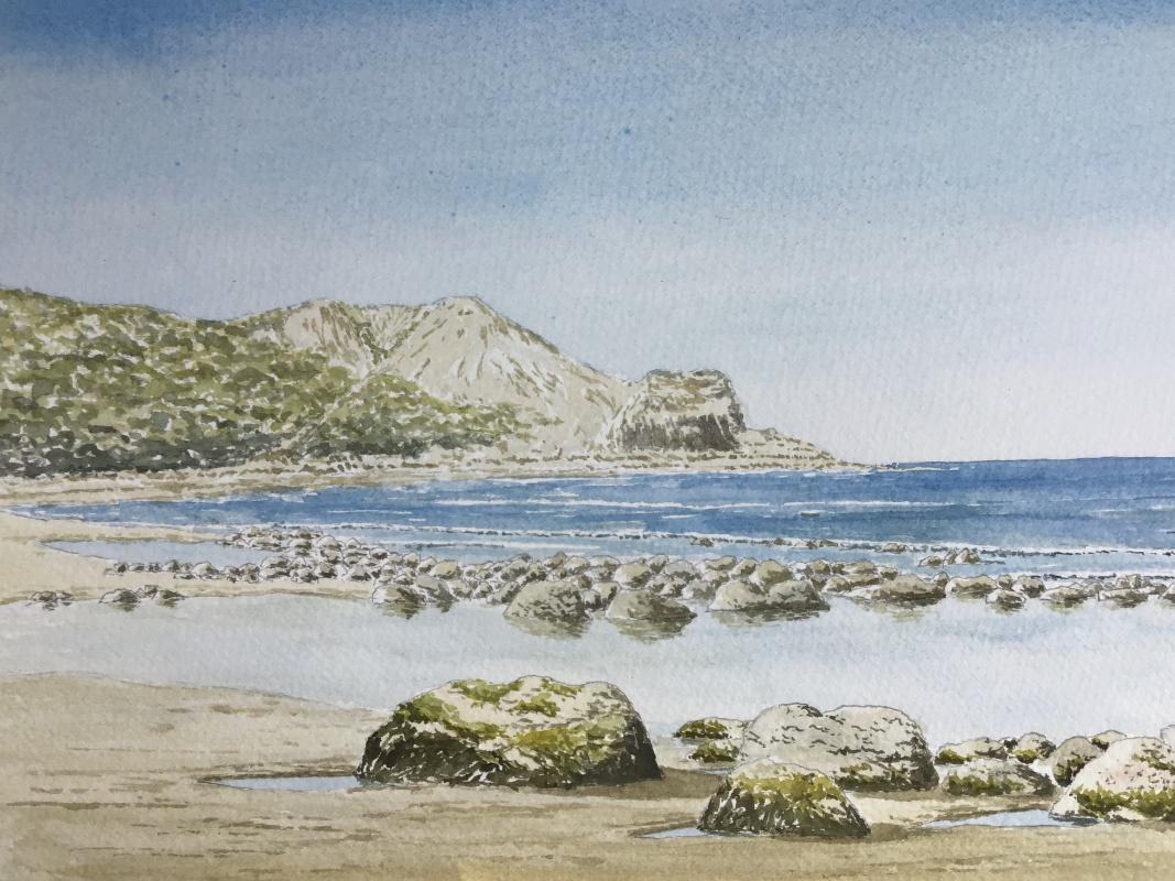 VIRTUAL OPEN ART EXHIBITION - Original Watercolour U/f 12x9