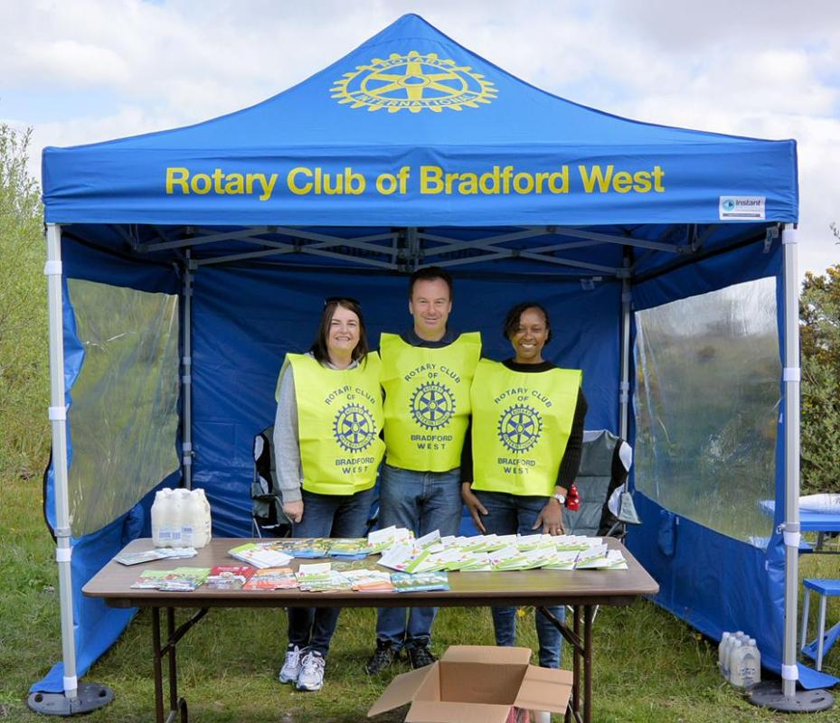 What we do - This was taken whilst we were marshalling for a Cycle Queensbury event.