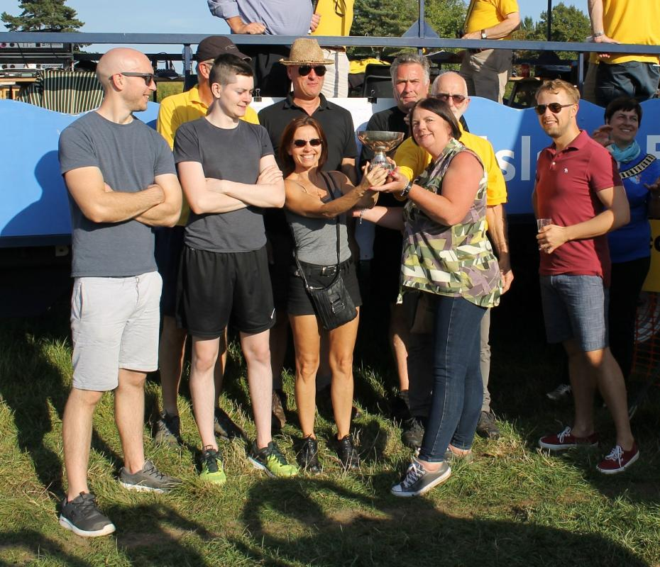 Cookham Regatta 2018:  - Allergan 1 from Tumbleweed VIII (by a nose)