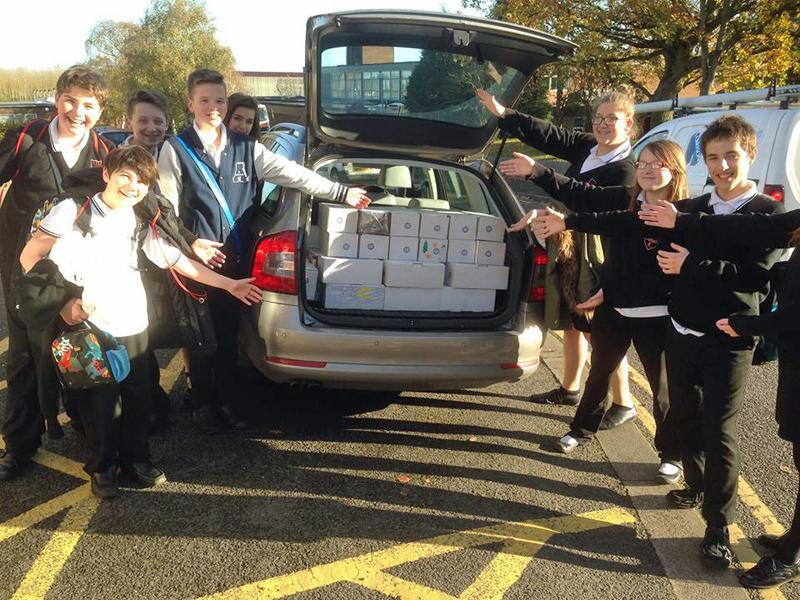 Rotary Shoebox Appeal - Another successful carload