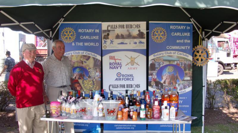Carluke Gala day June 2013 - Carluke Rotary Gazebo 1