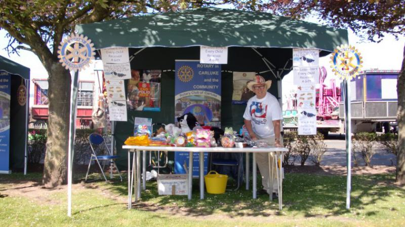 Carluke Gala day June 2013 - Carluke Rotary Gazebo 2
