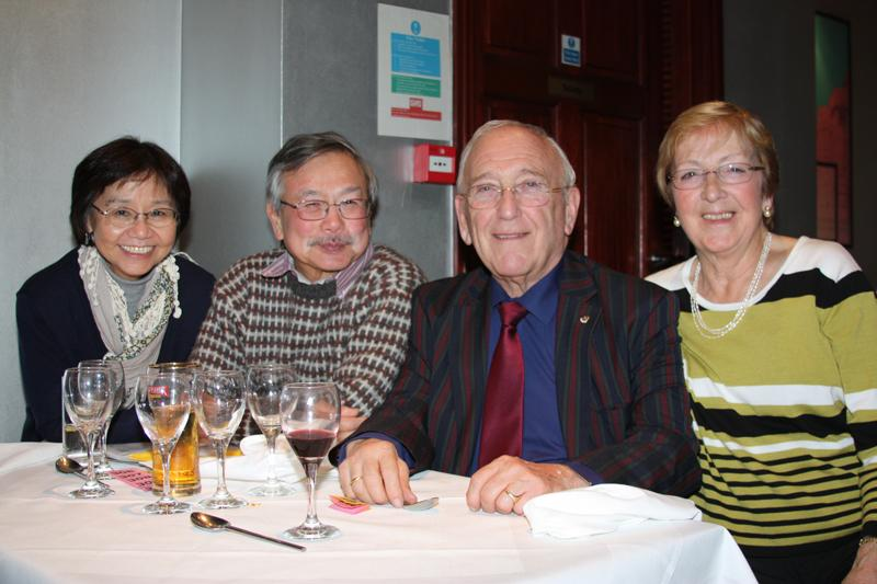 Charity Night at Fleet's Golden Triangle Restaurant  - 12 November 2012 -