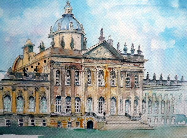 VIRTUAL OPEN ART EXHIBITION - Original Pen & Wash U/F 16x11