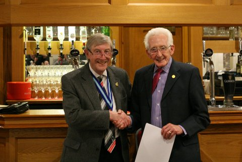 Celebration of Long Service - Stan Topliss