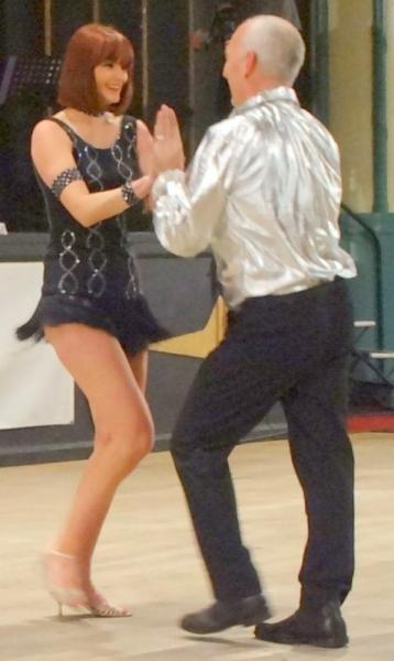 Strictly Come Rotary Dance Competition - Voted Champions, Allen and Marijke Cox danced the Samba