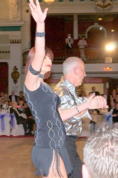 Strictly Come Rotary Dance Competition - Allen and Marijke, voted the Champions, dancing the Samba