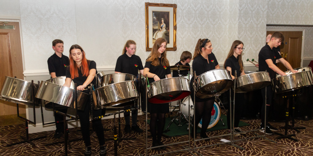 71st Charter Anniversary Gala Dinner - Our entertainment was provided by this excellent and innovative steel orchestra