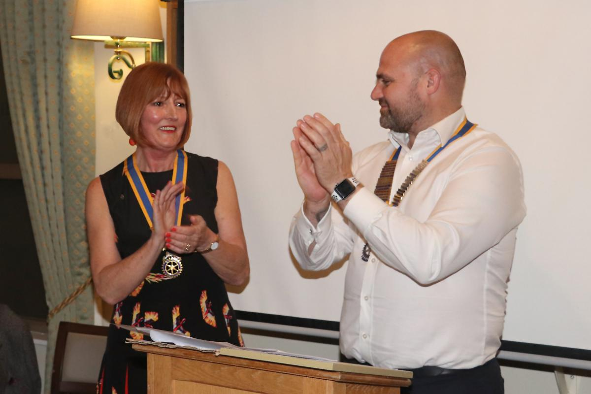 Billericay Town Rotary Club - Chain of Office