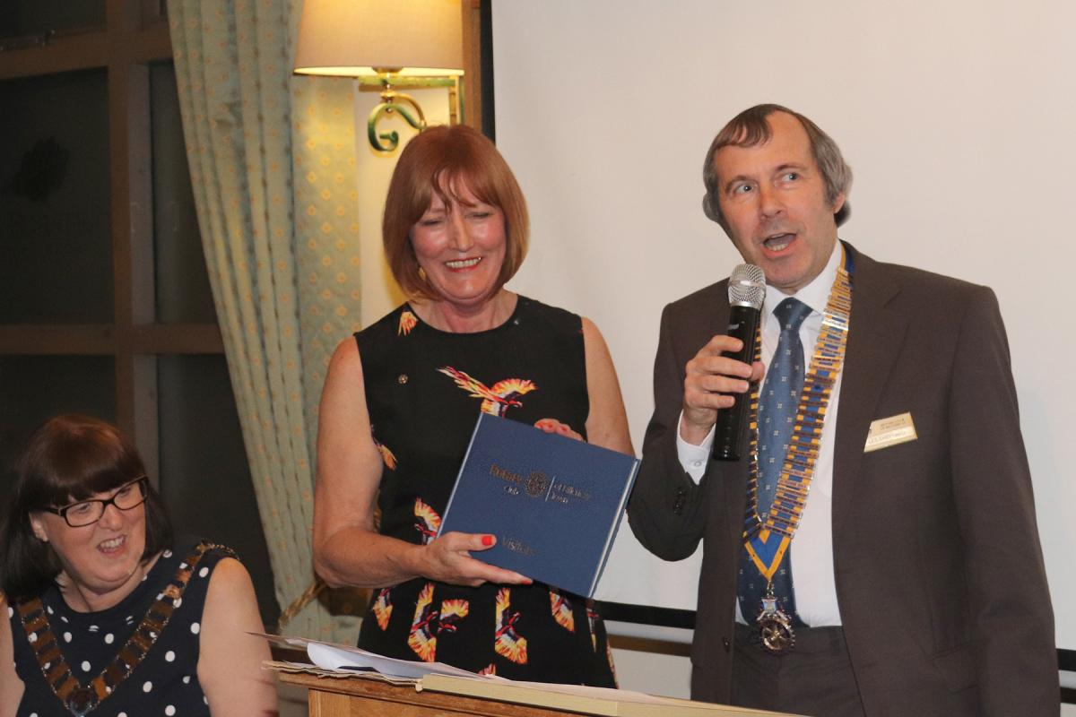 Billericay Town Rotary Club - Vistors' Book
