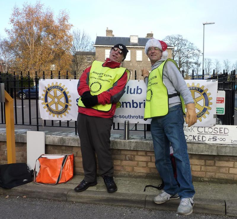 DEC 2013 Cambridge Car Parking - £6/day ONLY - Cheerful Volunteers ready to help! Dec 2013