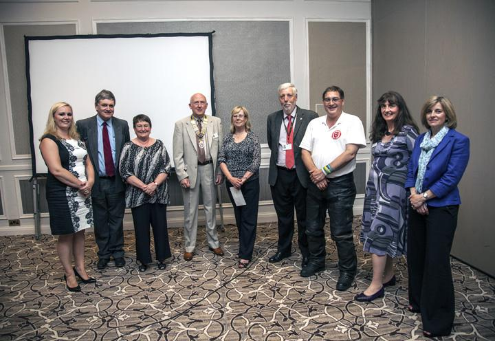Thame Rotary's Charities Evening - Representatives of charities