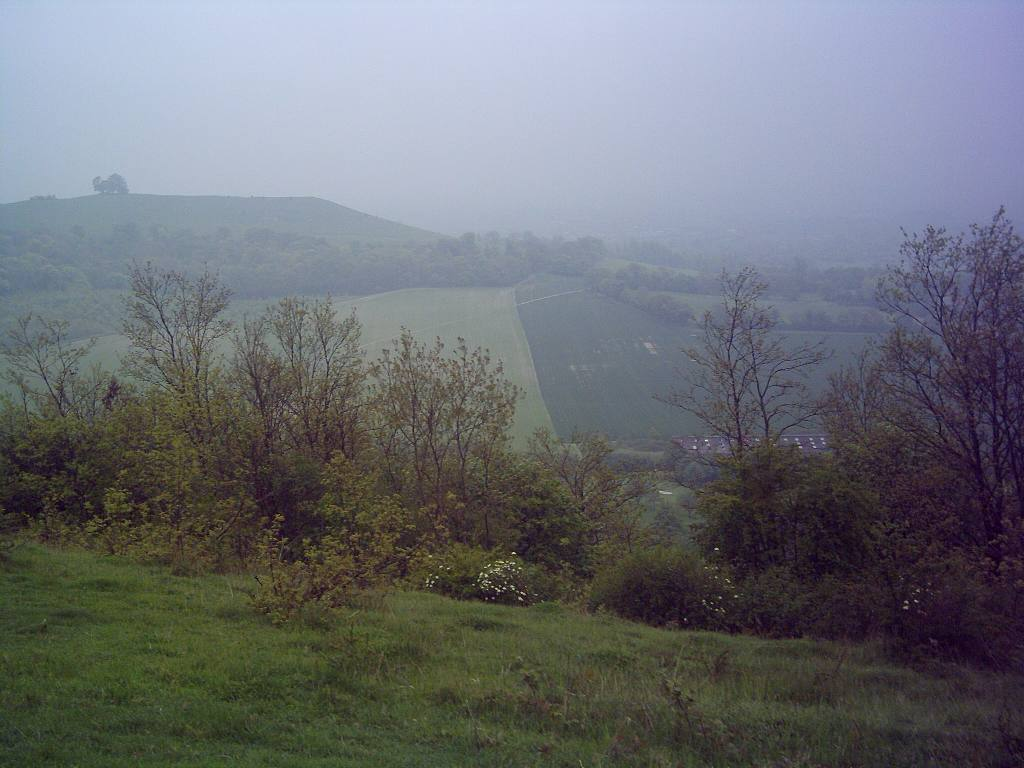 Training 3 peaks Challenge May '06 - Chilterns View