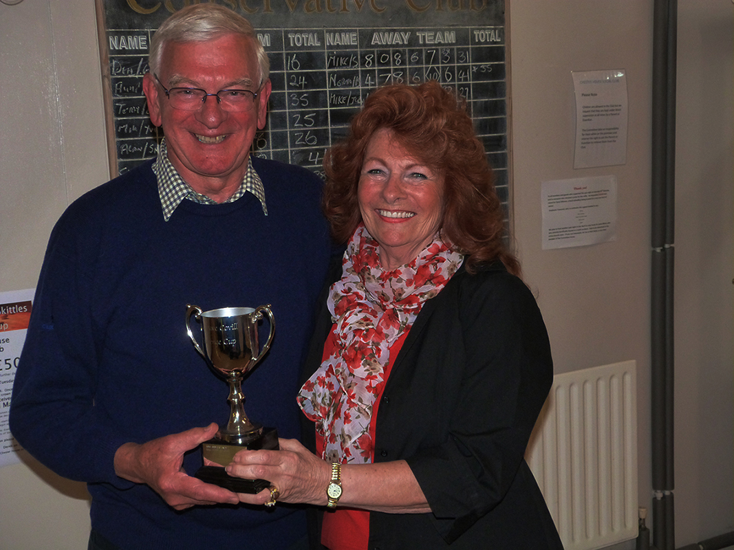 Dave Covill Challenge Cup and Partners Skittles Cup - Chris & Yvonne