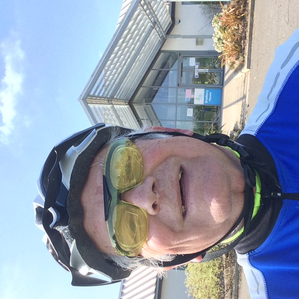 Our members experience of COVID-19  - Cycled from home to Canterbury MS centre on what would have been London