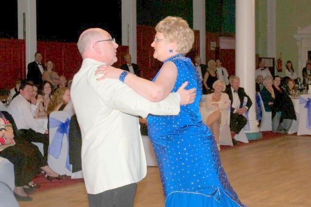 Strictly Come Rotary Dance Competition - Chris and Hazel Hedges dancing the Foxtrot