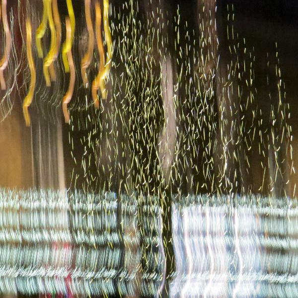RIBI YOUNG PHOTOGRAPHER COMPETITION - The Christmas decorations display on Elisabeth Street in Belgravia. Victor started experimenting by shaking the camera and creating a series of abstract images