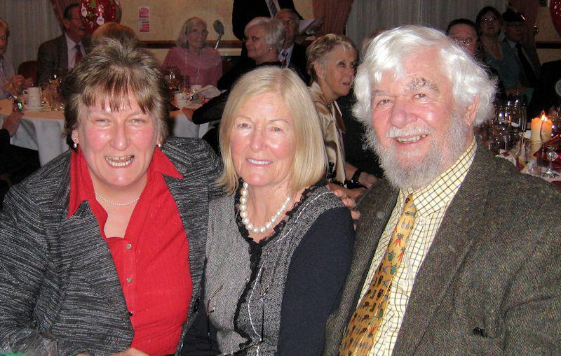 Club Fellowship - Baroness Annabel Goldie, a past member and now an Honorary Member, enjoying Christmas Dinner with Grace and Greg Morris.