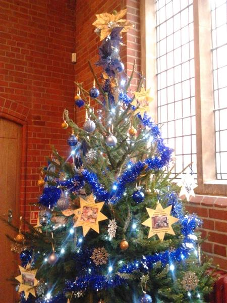 Community & Vocational - Ashtead Rotary Club's entry in the St George's Christmas Tree Festival.