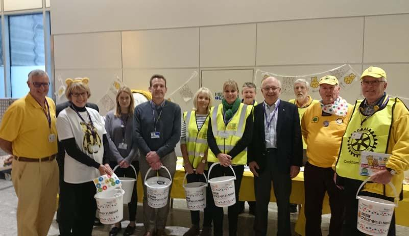 Help Pudsey fly through the roof! - Lots of volunteers enable full coverage of all terminals