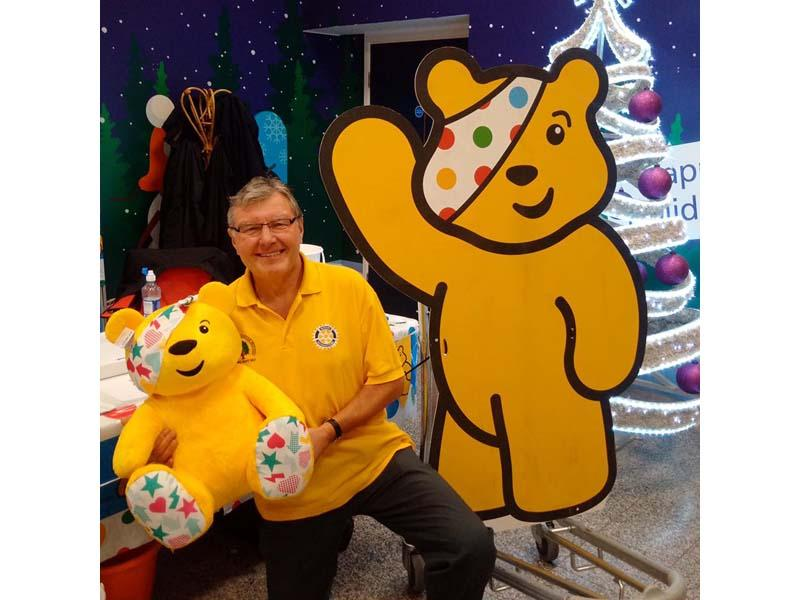 Help Pudsey fly through the roof! - Contact Paul Fisher