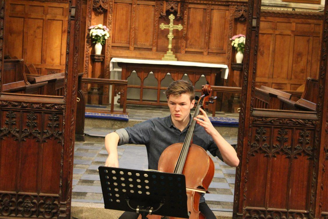 District Young Musicians Final - Ciaran Trevena , Truro College, Cello