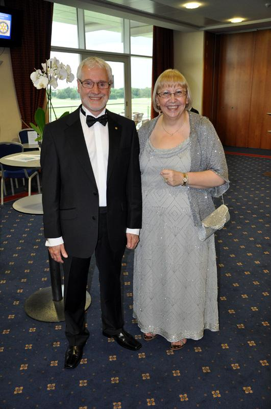 District 1040 Handover June 2012 - Colin and Helen