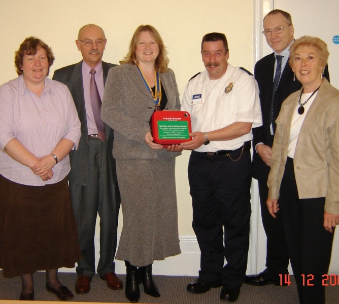 About Us - Community Defibrillator