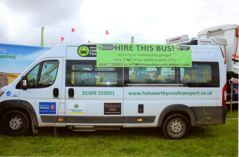 Holsworthy Show, August 2016 - CommunityTransport