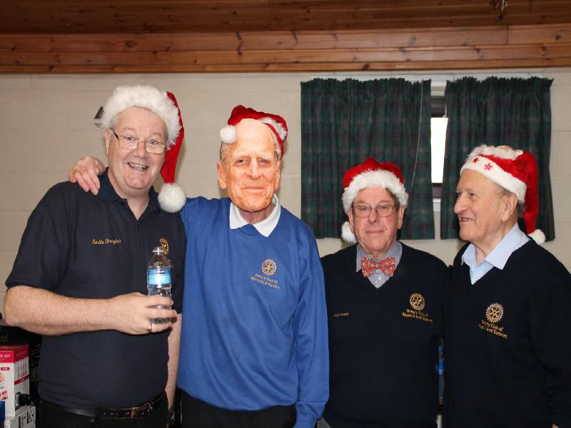 Senior Citizens' Xmas Party 2013 - A Royal event?