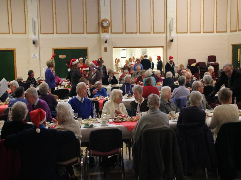 Senior Citizens' Xmas Party 2013 - Can someone turn down the volume?