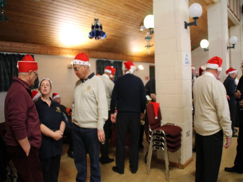 Senior Citizens' Xmas Party 2013 - Chaos---