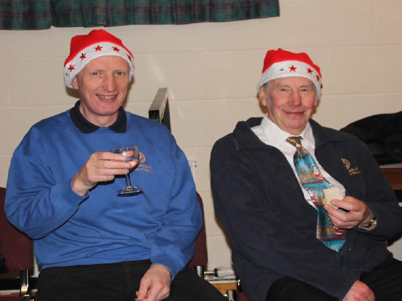 Senior Citizens' Xmas Party 2013 - We TWO kings....the third one was breathalysed on a camel...