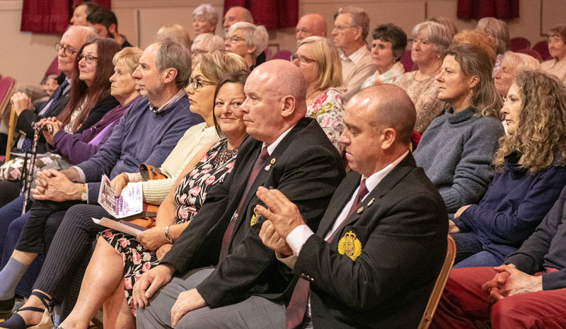 D-Day 75th Anniversary Concert - Members of the audience