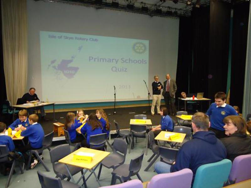 2013 Primary Schools' Quiz - for the 2013 Skye Rotary PSQ