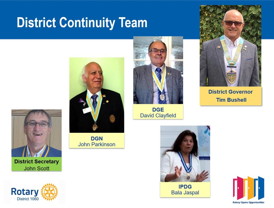 District Handover 2020 -