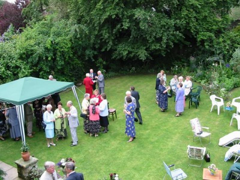 Pictures from the Past - Garden Party at John's 2002