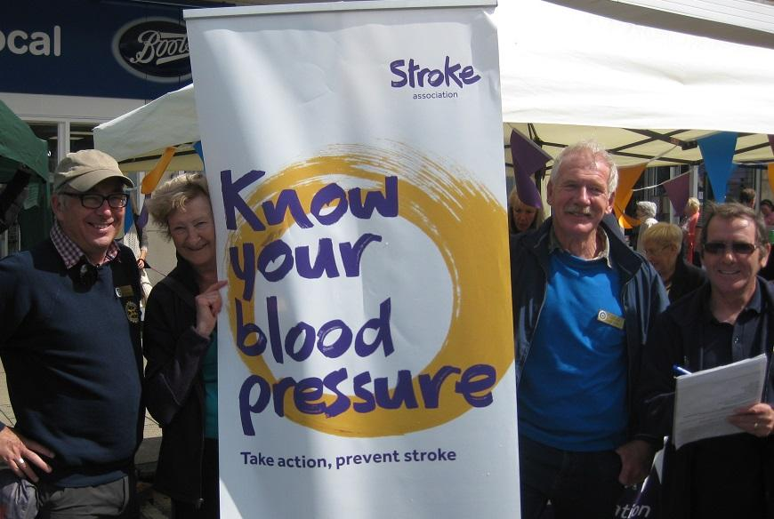Cottingham Day - The Stroke Association Know Your Blood Pressure event at Cottingham