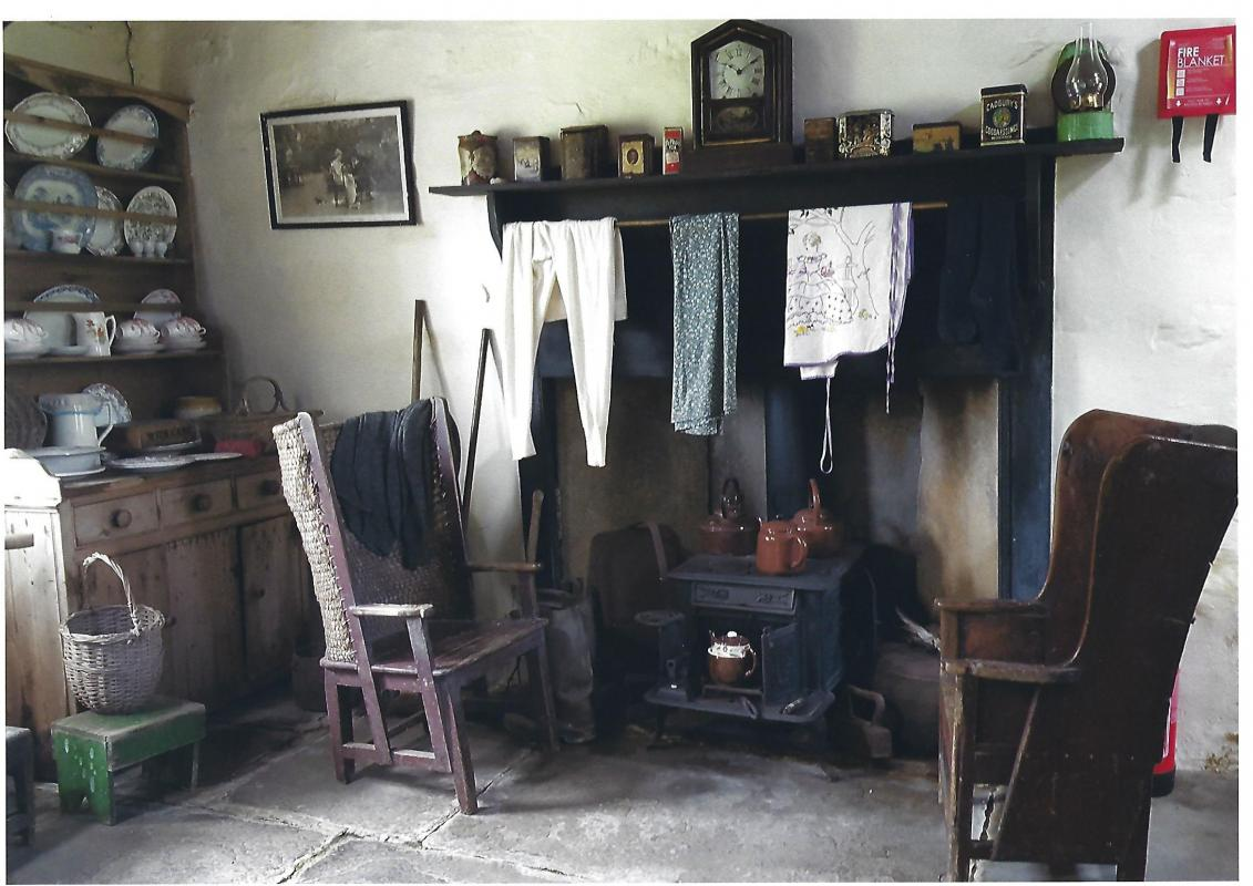 Photographic Competition 2017 - Crofter's Fireplace by Bill McKenzie