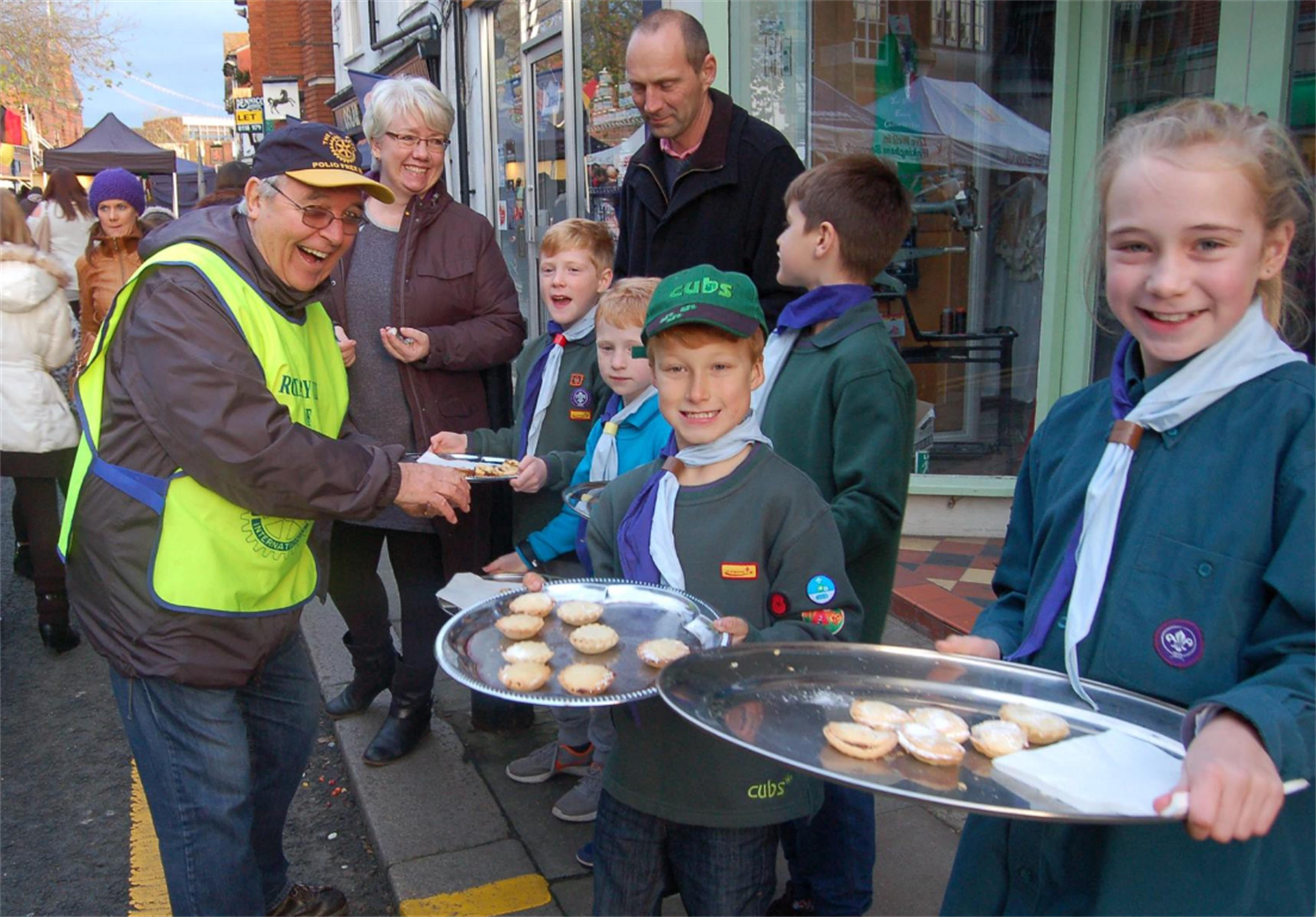Charities that we support - Cubs, scouts and guides