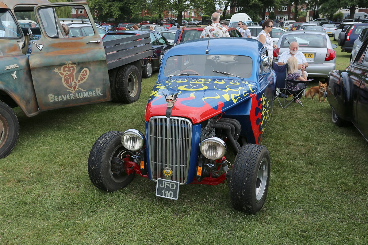 Doncaster Classic Car and Bike Show 2017 - Custom Cars 2