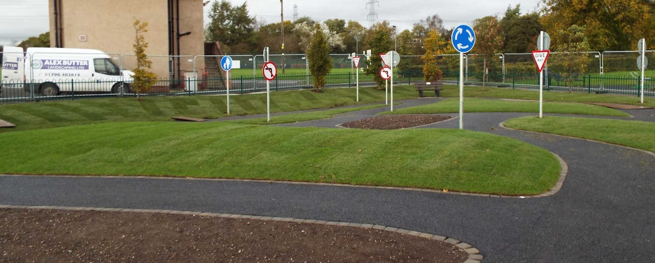 Rotary Cycle Training Track - Cycle area 1
