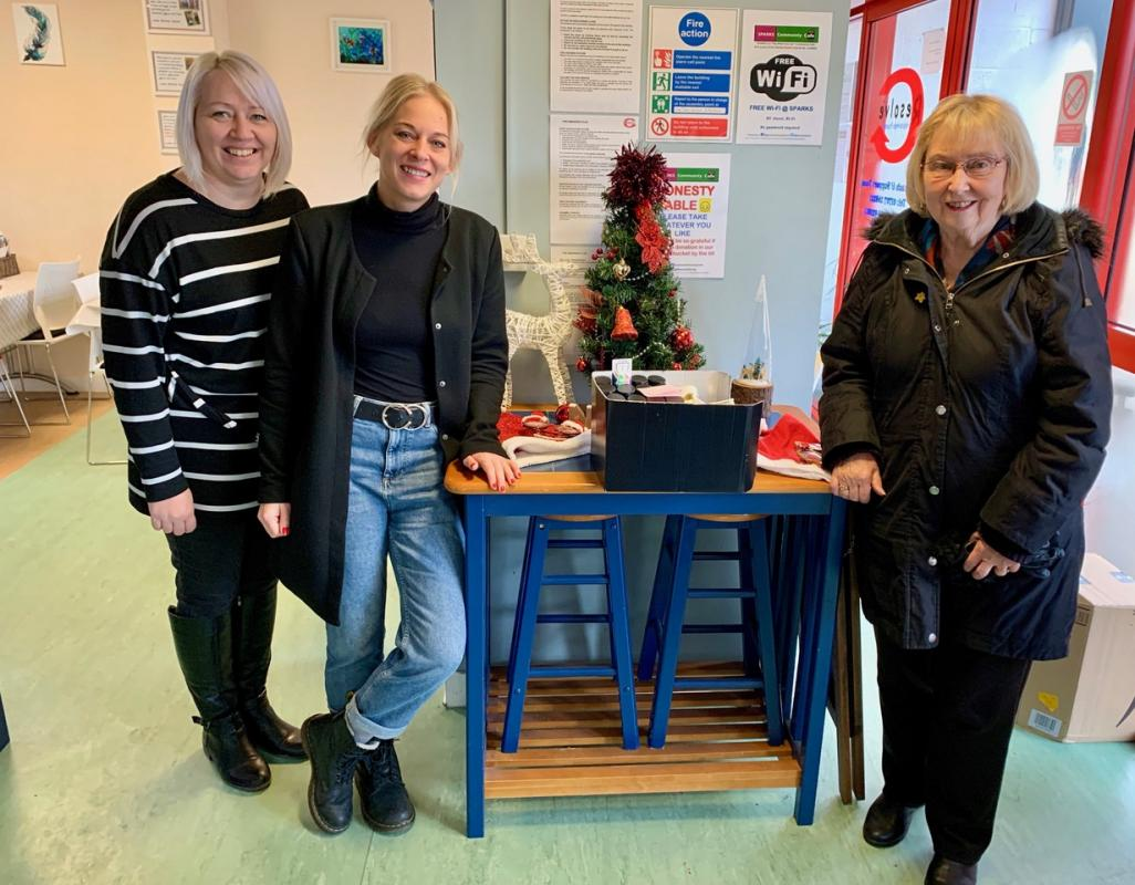 Some Christmas Cheer for Friendship House and for Resolve -