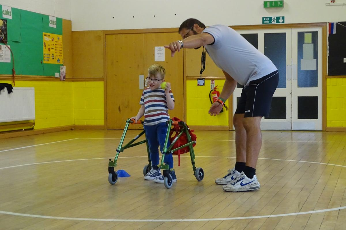 Leighton Linsdale's Disability Multi Sports Day -
