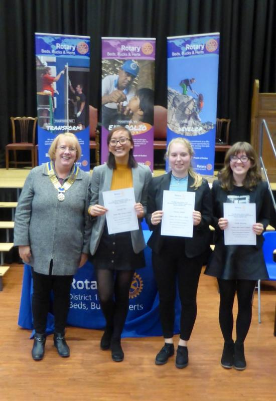 Mid Herts Youth Speaks Competitions - Mid Herts Youth Speaks - Senior Team from Dame Alice Owen