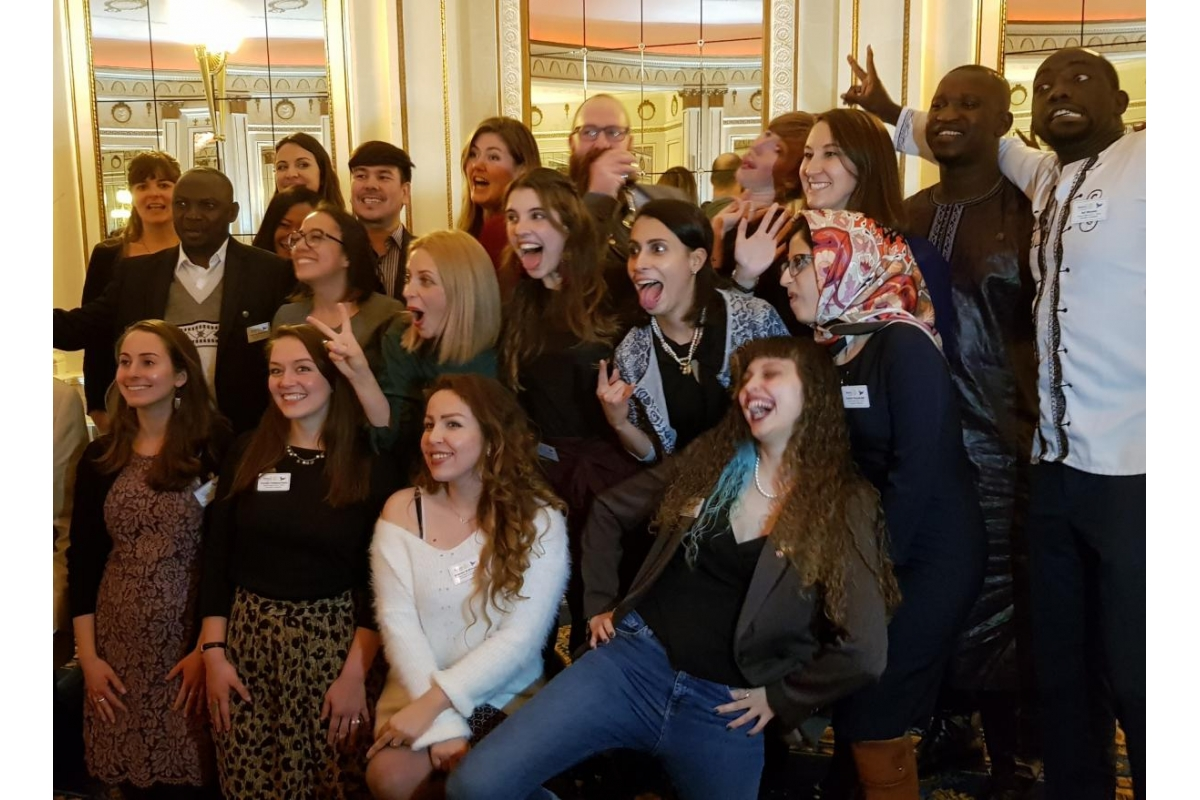 DG's Newsletter - November 2018 - The Outgoing and Incoming Peace Scholars having a bit of fun at the Breadford Peace Seminar