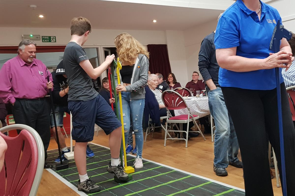 District Governor's Newsletter - October 2019 - The runners and riders for the last race at the MK Watling Race Night