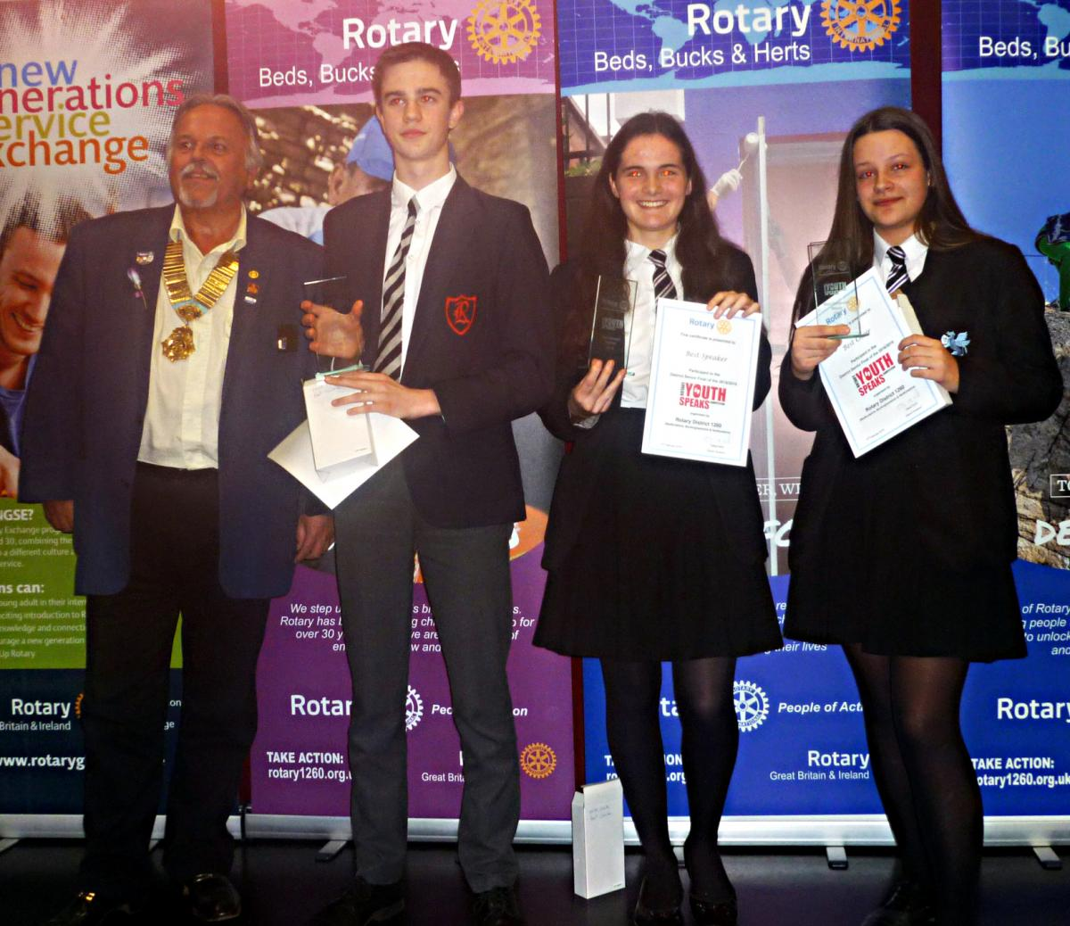 Youth Speaks - District Senior Final -